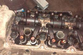 Закоксованный двигатель Крайслер Пацифика