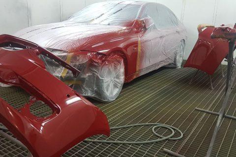 Кузовной ремонт (Покраска в камере)