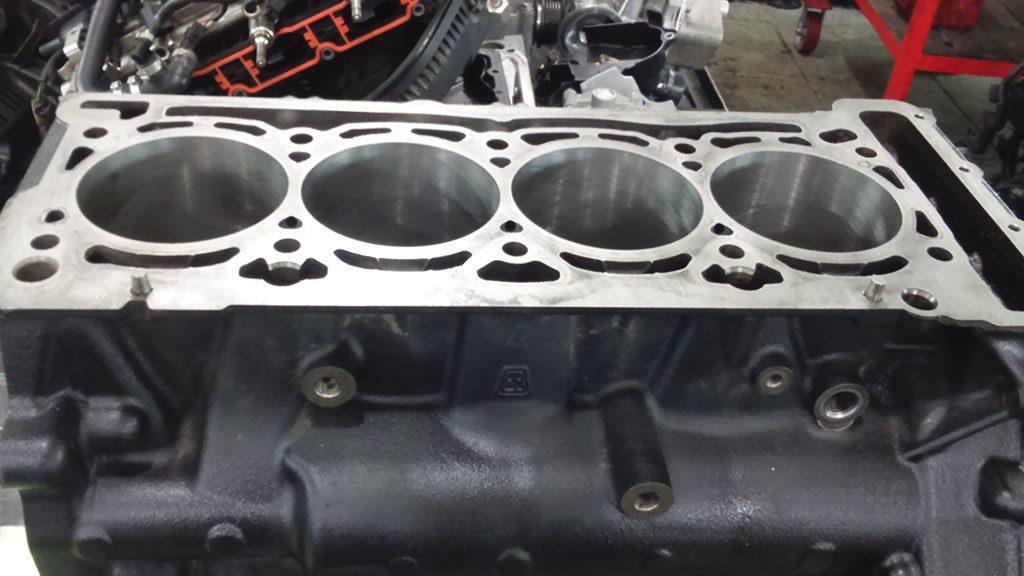 Капитальный ремонт мотора Аудио Q5 4